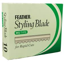 Feather Blades Styling Razor Rapid 10pk