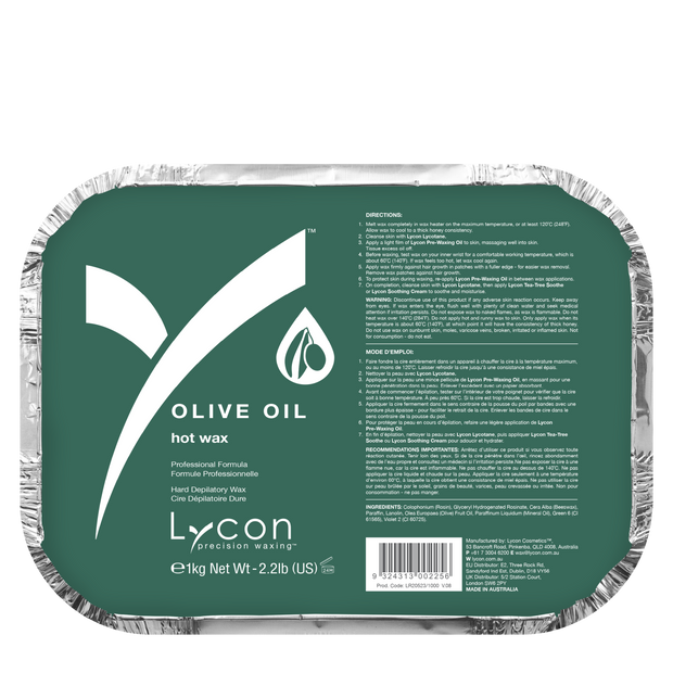 Lycon Hot Wax Olive Oil 1kg