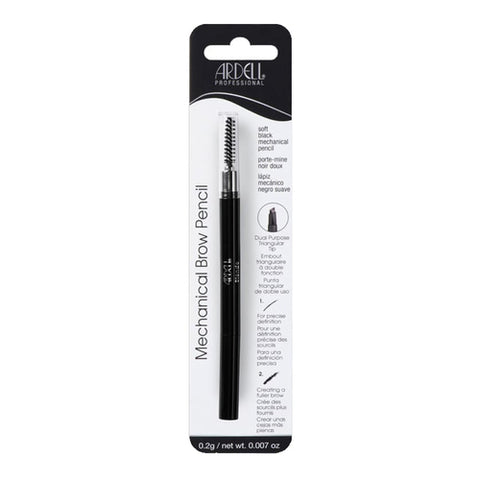 Ardell Brow Mechanical Pencil With Spoolie Soft Black