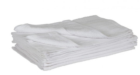 Face Towels White 12pk