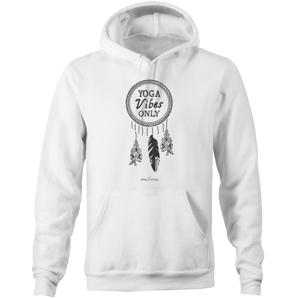 White/Grey/Tan Pocket Hoodie Sweatshirt