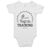 White/Colour Mini Me - Baby Onesie Romper