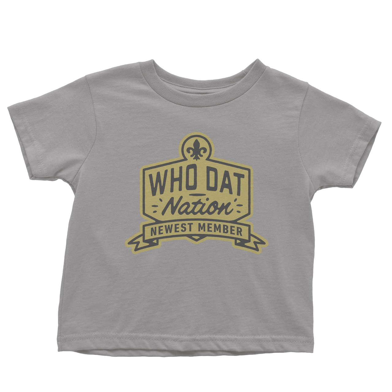 Who Dat Nation Newest Member Toddler Tee