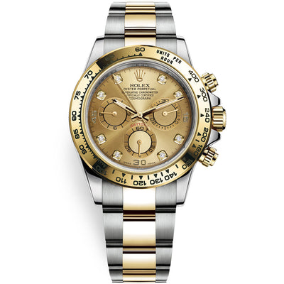 Rolex Daytona 40mm 116503 Champagne Diamond Dial