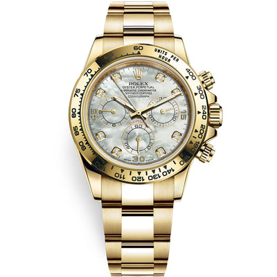 Rolex Daytona 40mm 116508 White Mother Of Pearl Diamond Dial