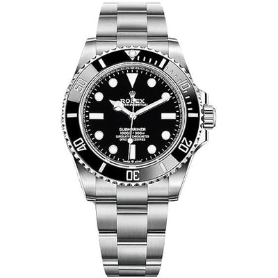 Rolex Submariner 41mm 124060 Black Dial