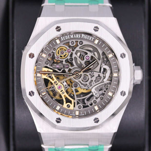 Audemars Piguet Royal Oak 41mm 15407ST Overworked Dial
