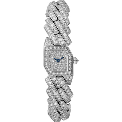 Cartier Maillon De Cartier 16mm Quartz WJBJ0005 Diamond Dial