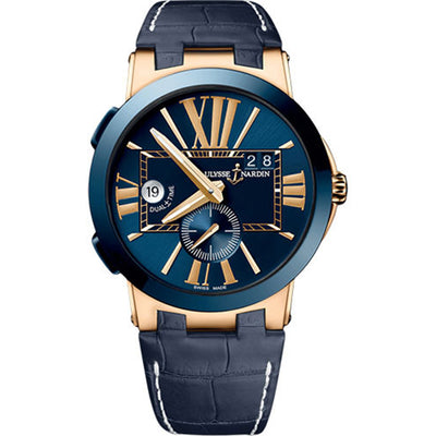 Ulysse Nardin Executive Dual Time 43mm 246-00/43 Blue Dial