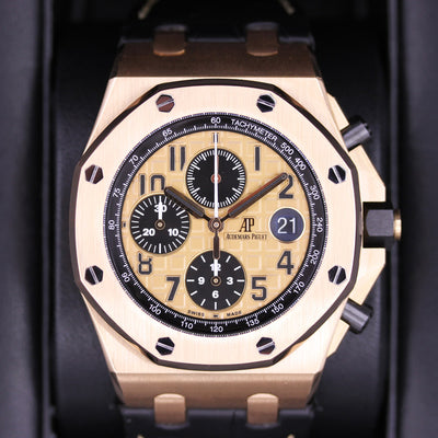 Audemars Piguet Royal Oak Offshore Chronograph 42mm 26470OR Pink Dial Pre-Owned
