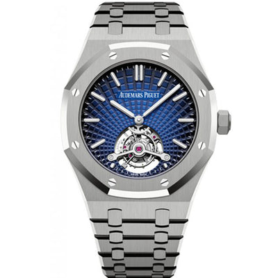 Audemars Piguet Limited Edition Royal Oak Tourbillon Extra-Thin 41mm 26522TI Smoked Blue Dial