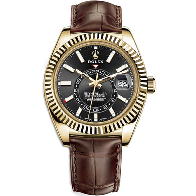 Rolex Sky-Dweller 42mm 326138 Black Dial