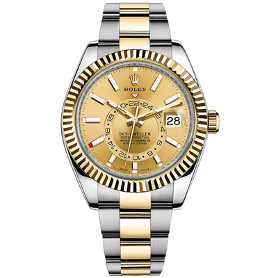 Rolex Sky-Dweller 42mm 326933 Champagne Dial