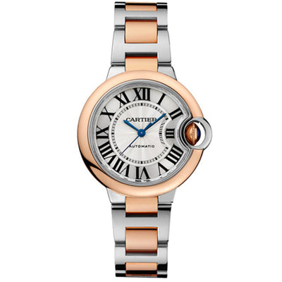 Cartier Ballon Bleu De Cartier 33mm W2BB0023 Silver Dial