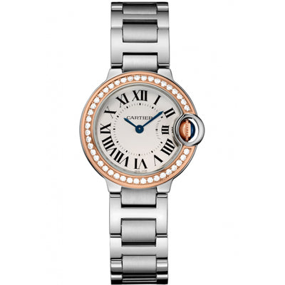 Cartier Ballon Bleu De Cartier 28mm Quartz WE902079 Silver Dial
