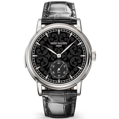 Patek Philippe Grand Complications Minuet Repeater 38mm 5078G Black Enamel Dial