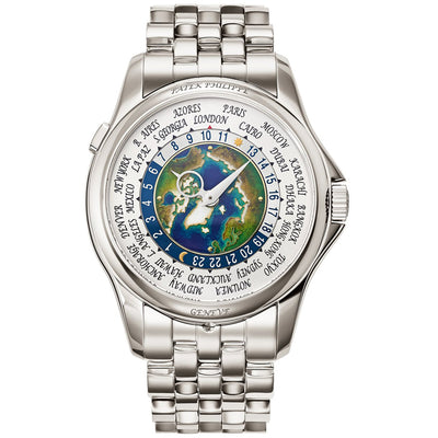 Patek Philippe World Time Complication 39mm 5131-1P-001 World Dial