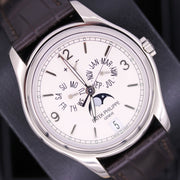 Patek Philippe Annual Calendar Complication 39mm 5146G Silver Dial Pre-Owned