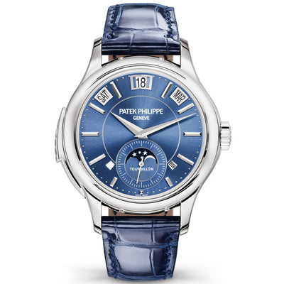 Patek Philippe Grand Complications Tourbillon Minute Repeater / Perpetual Calendar 41mm 5207G Blue Dial