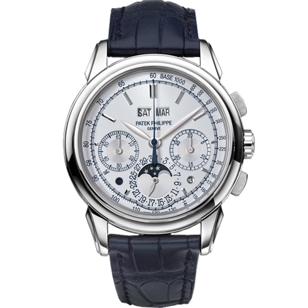 Patek Philippe Limited Edition Grand Complications Perpetual Calendar Chronograph 41mm 5270G-015 Silver Dial