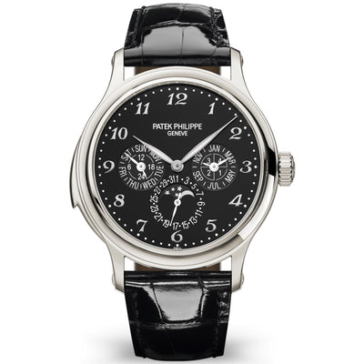 Patek Philippe Grand Complications Perpetual Calendar / Minute Repeater 42mm 5374P Black Dial
