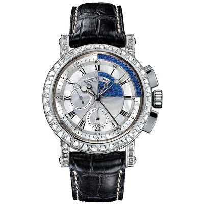 Breguet Marine Chronograph 43mm 5829BB White/Blue Dial