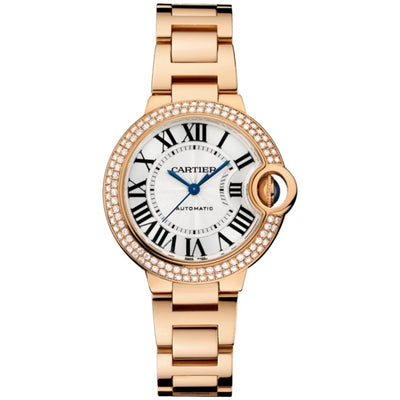 Cartier Ballon Bleu De Cartier 33mm WE902064 Silver Dial