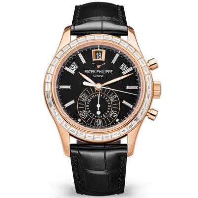 Patek Philippe Annual Calendar Chronograph Complication 40mm 5961R-010 Black Dial