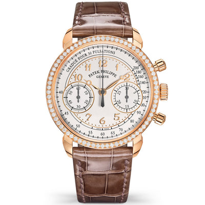 Patek Philippe Chronograph Complication 38mm 7150-250R-001 Silver Dial