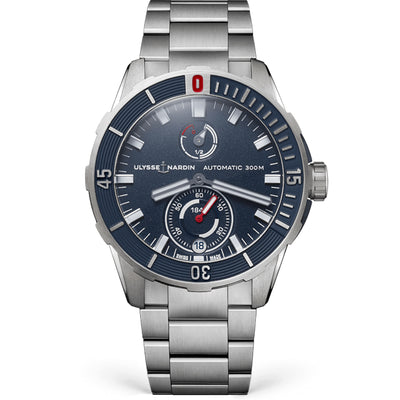 Ulysse Nardin Diver Chronometer 44mm 1183-170-7M/93 Black Dial