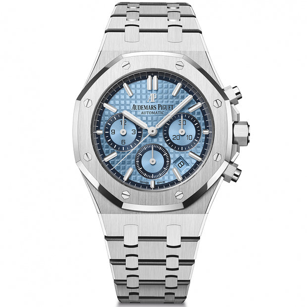 Audemars Piguet Limited Edition Royal Oak Chronograph 38mm 26317BC Light Blue Dial