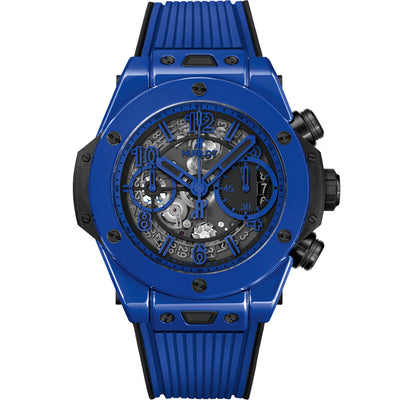Hublot Big Bang Unico Chronograph 42mm 441.ES.5119.RX Overworked Blue Dial