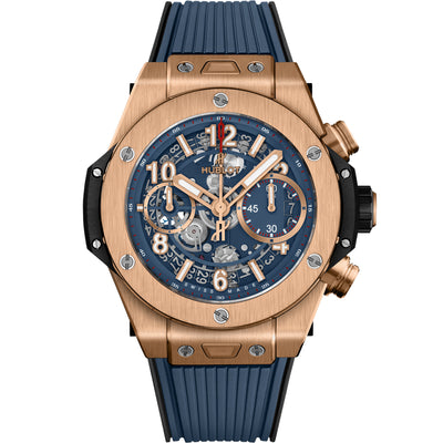Hublot Big Bang Unico Chronograph 42mm 441.OX.5189.RX Overworked Blue Dial
