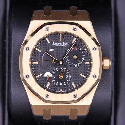 Audemars Piguet Royal Oak GMT Dual Time 39mm 26120OR Black Dial Pre-Owned