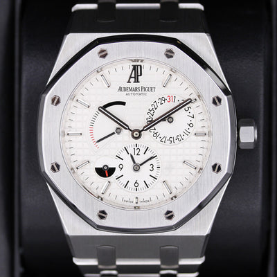 Audemars Piguet Royal Oak GMT Dual Time 39mm 26120ST White Dial Pre-Owned