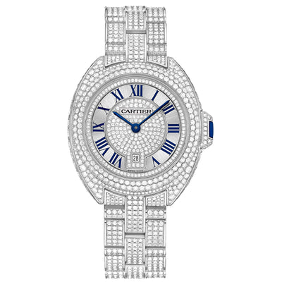 Cartier Clé De Cartier 31mm HPI00980 Diamond Dial