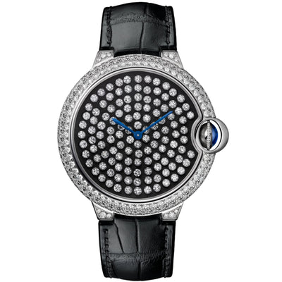 Cartier Ballon Bleu De Cartier 42mm HPI01062 Black Diamond Dial