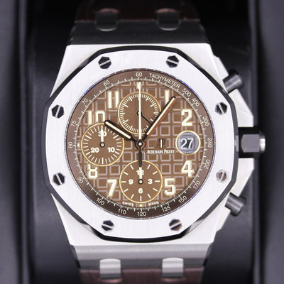 Audemars Piguet Royal Oak Offshore Chronograph 42mm 26470ST Brown Dial Pre-Owned