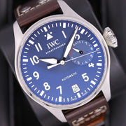 IWC Le Petit Prince Big Pilot Unworn 46mm IW501002 Blue Dial Pre-Owned