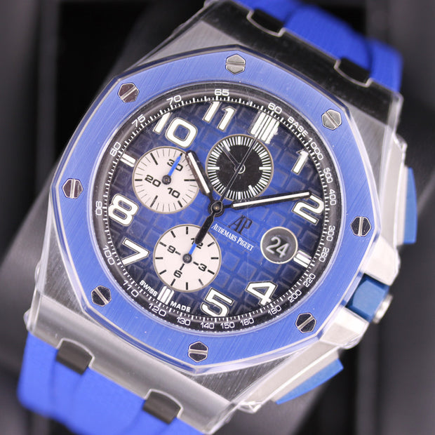Audemars Piguet Noverlty Royal Oak Offshore Chronograph 44mm 26405CE Blue Dial