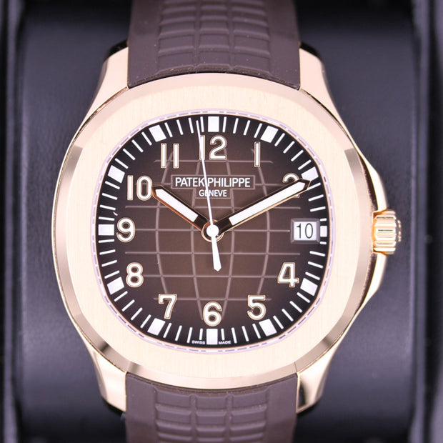 Patek Philippe Aquanaut 40mm 5167R-001 Brown Dial Pre-Owned