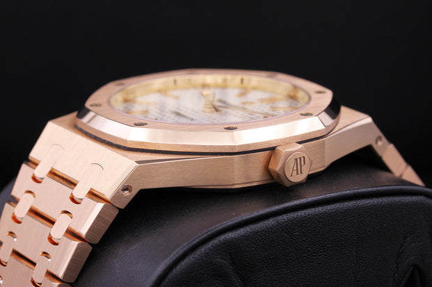 Audemars Piguet Royal Oak 41mm 15400OR White Dial