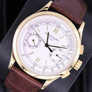 Patek Philippe Chronograph Complication 39mm 5170J Silver Dial Pre-Owned