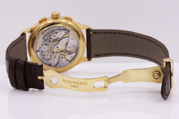 Patek Philippe Chronograph Complication 39mm 5170J Silver Dial - First Class Timepieces