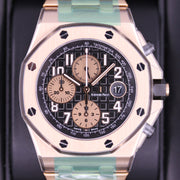 "Audemars Piguet ""Brick"" Royal Oak Offshore Chronograph 42mm 26470OR Black Dial"