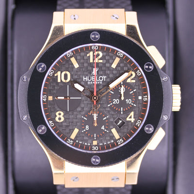 Hublot Big Bang 44mm 301.PB.131.RX Carbon Black Dial Pre-Owned