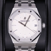 Audemars Piguet Royal Oak 41mm 15500ST White Dial Pre-Owned