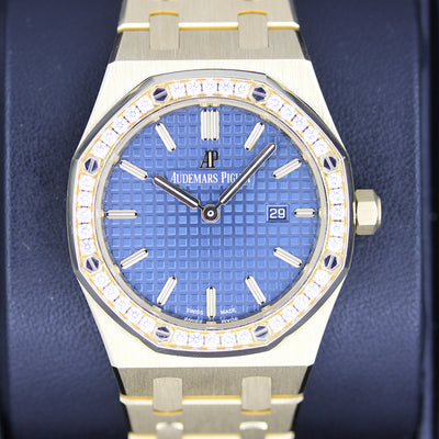 Audemars Piguet Royal Oak Quartz 33mm 67651BA Blue Dial Pre-Owned
