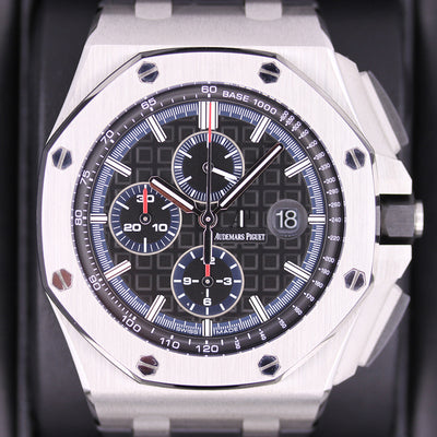 Audemars Piguet Limited Edition Royal Oak Offshore Chronograph 44mm 26412PO Black Dial Pre-Owned
