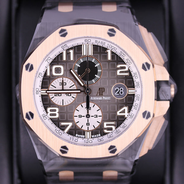 Audemars Piguet Noverlty Royal Oak Offshore Chronograph 44mm 26405NR Smoked Grey Dial